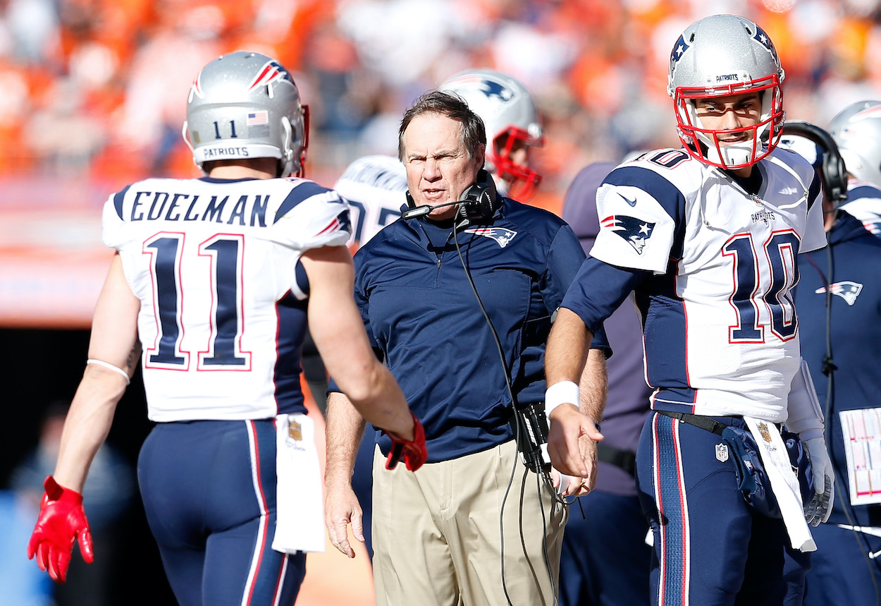 Julian Edelman Details What It's Like to Feel the Wrath of an Angry Bill Belichick