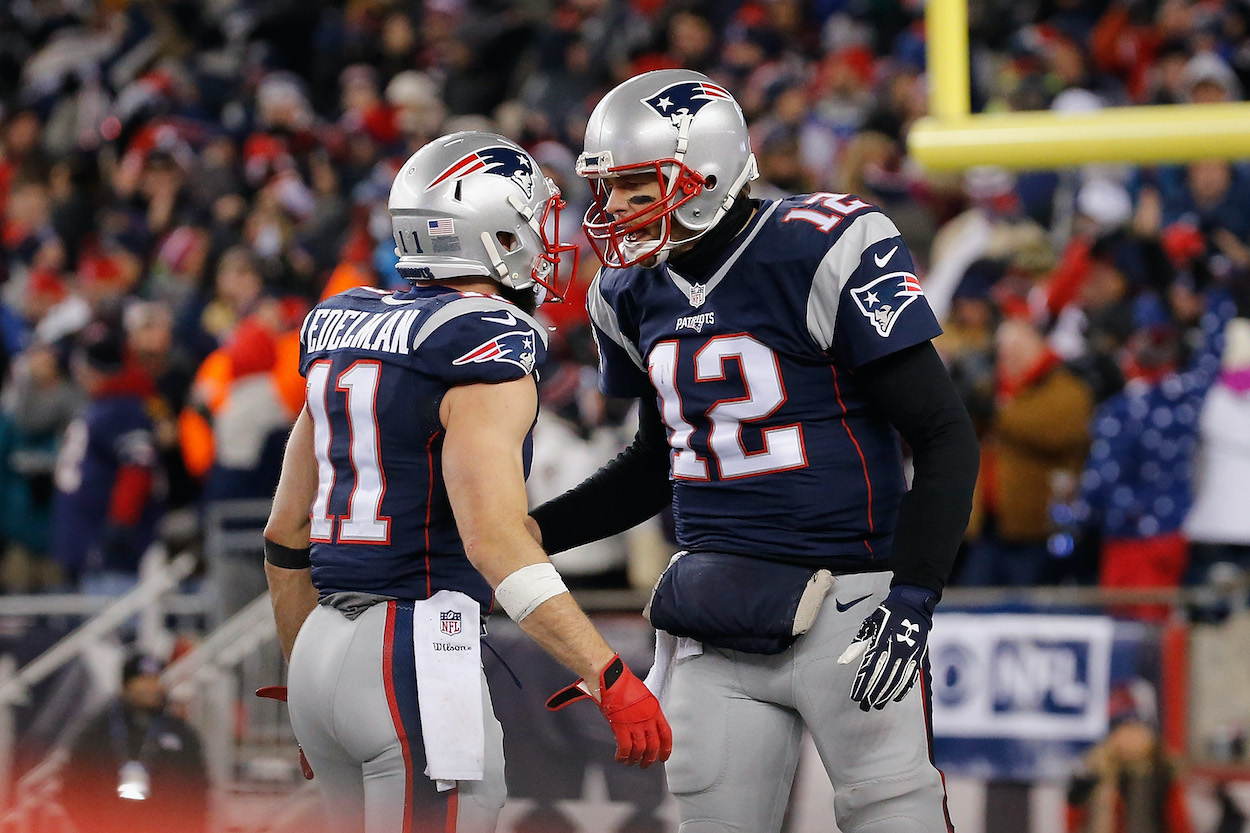 Tom Brady Showed His Patriots Teammates He Loved Them in an Unusual Way, According to Julian Edelman