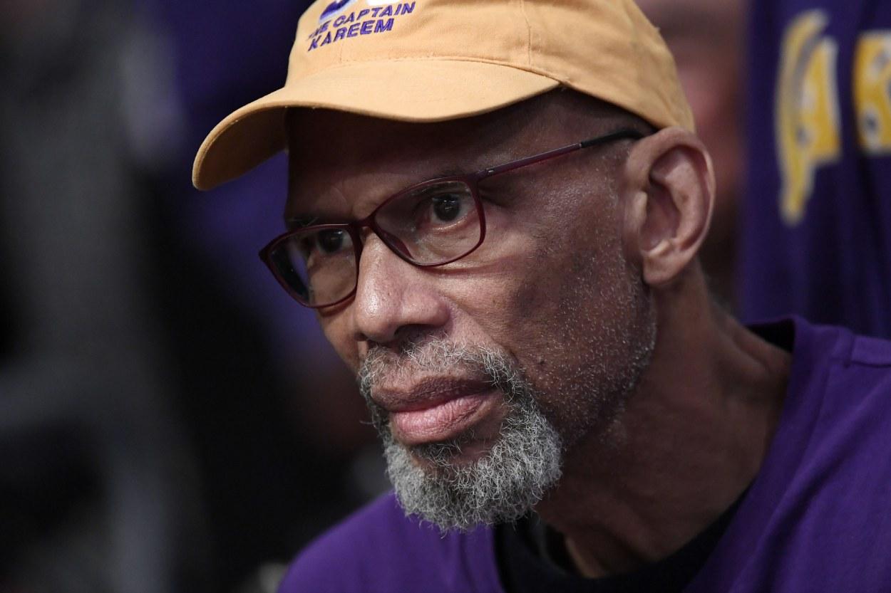 Kareem Abdul-Jabbar Felt Afraid When He Retired From the NBA and Became an Author