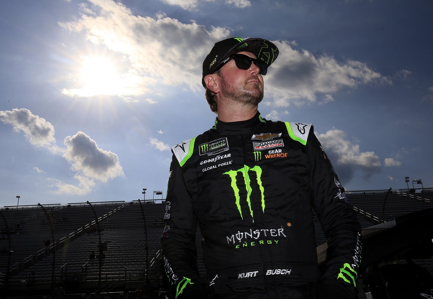 Kurt Busch joined Chip Ganassi Racing in 2019 but does not have a contract for next season. | Chris Trotman/Getty Images