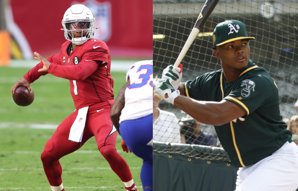 Kyler Murray Keeps Playing Footsie With a Professional Baseball Career, for Some Reason