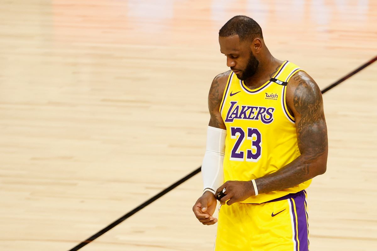 LeBron James Accomplishes Negative Feat He Never Intended to Achieve