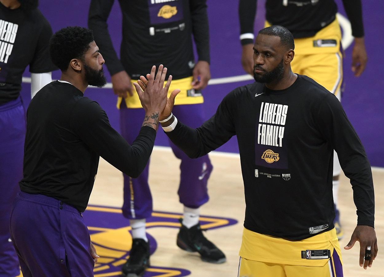 LeBron James and Anthony Davis Just Made Lakers Fans Happy With Their First Offseason Decision