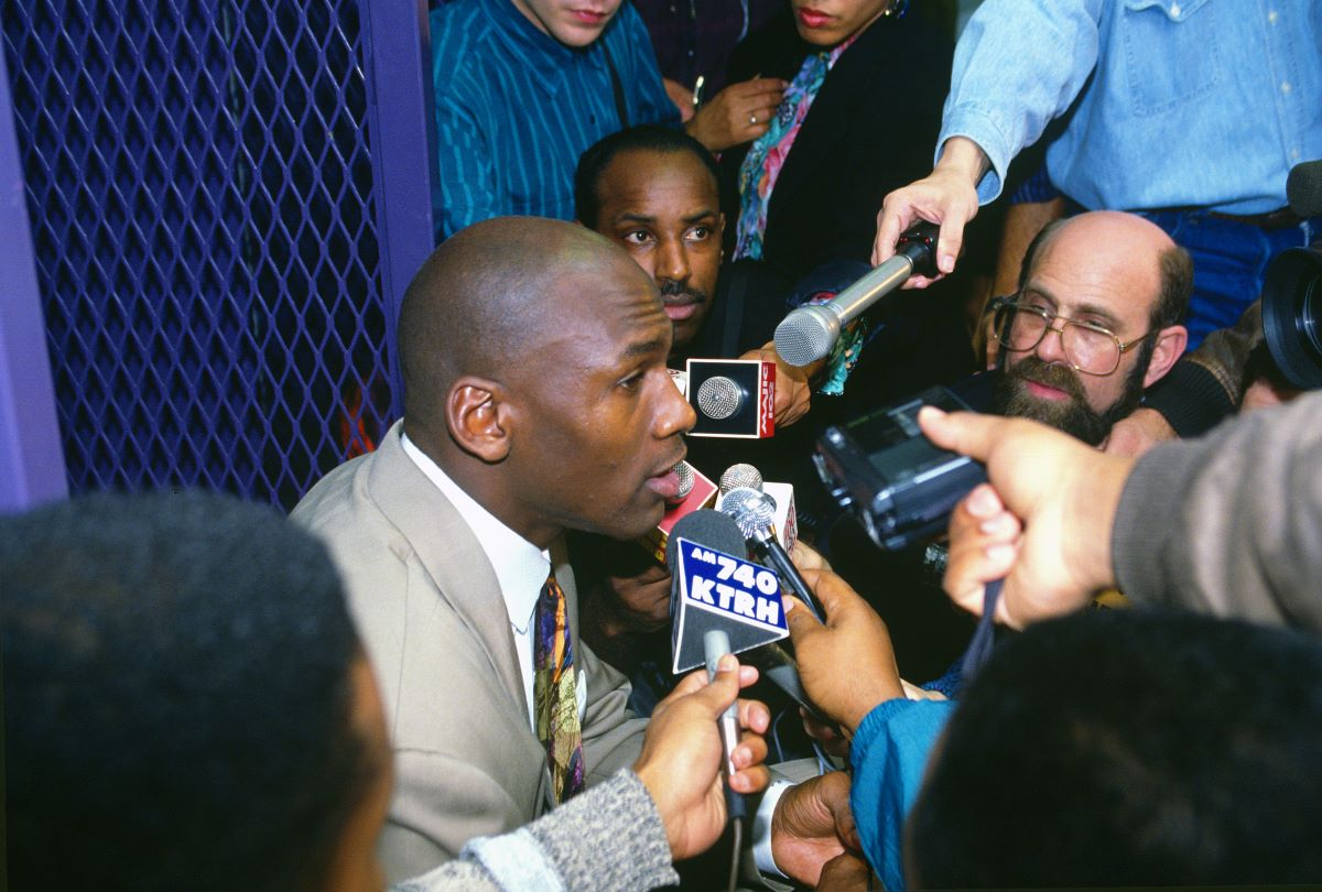 Michael Jordan Shockingly Never Confronted the Author of Controversial 'Jordan Rules' Book Despite Seeing Him Every Day