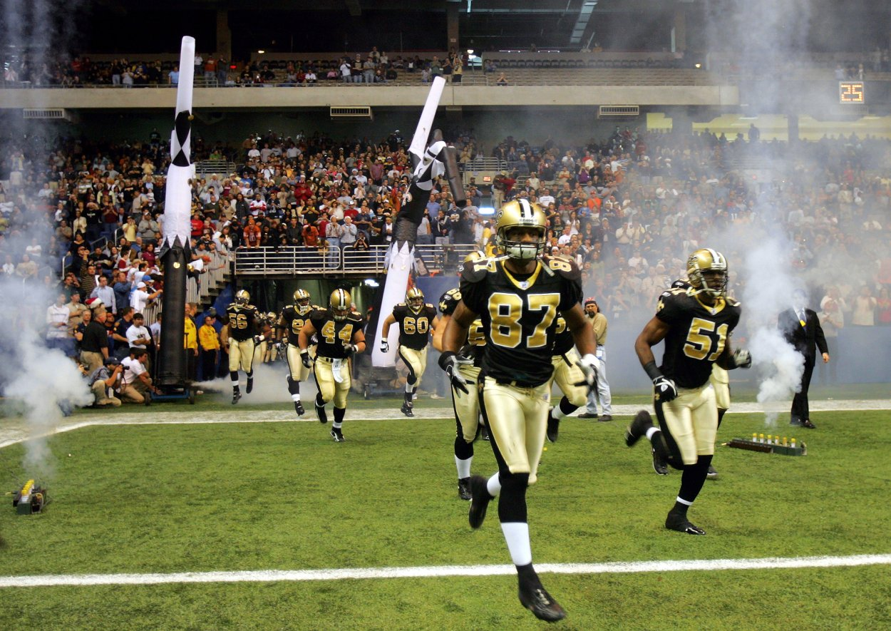 Could the Carolina Panthers move to San Antonio? The Alamodome hosted Joe Horn and the New Orleans Saints for several games in 2005