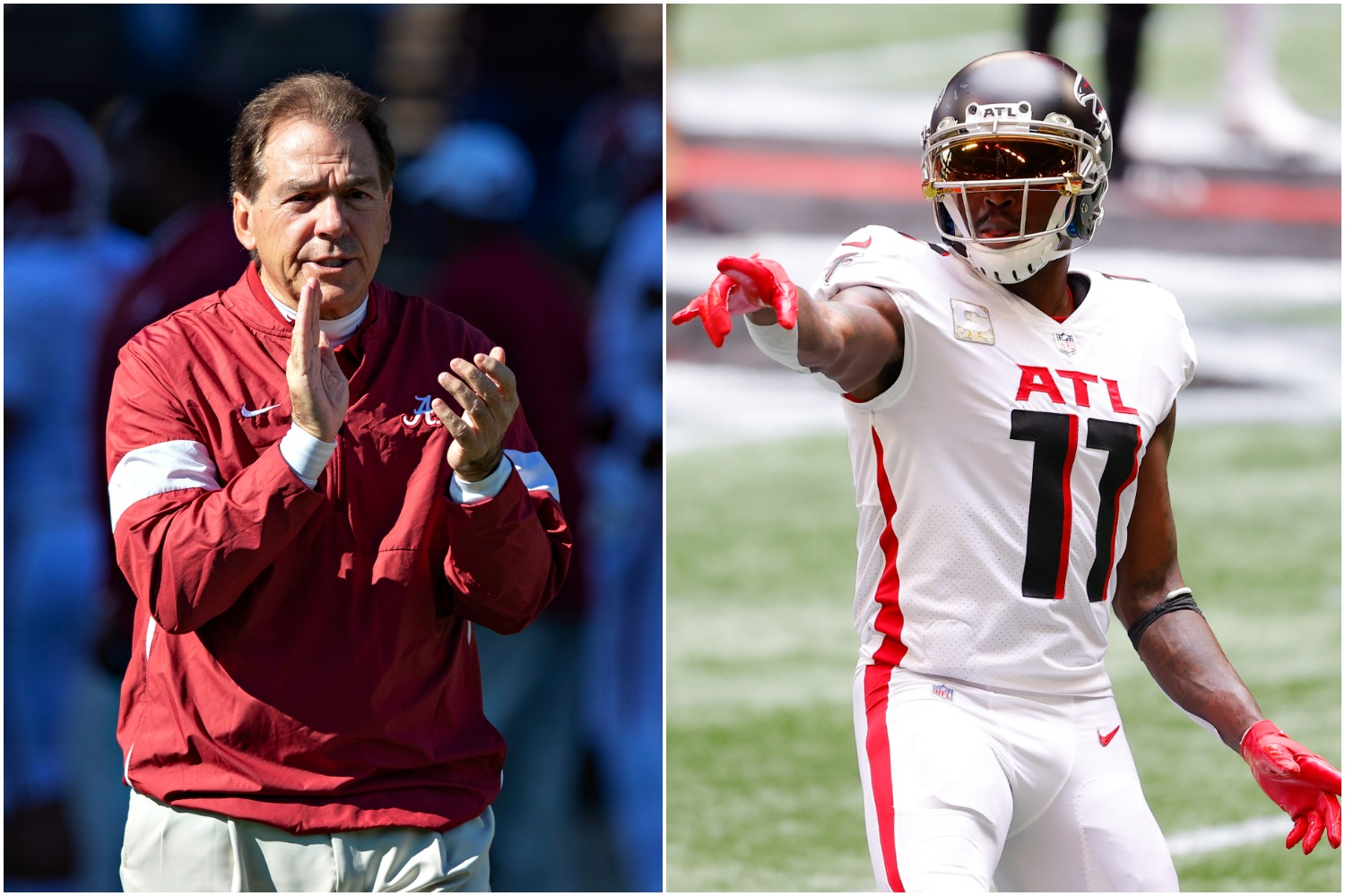 Julio Jones Can Thank Nick Saban For Helping Him Secure His Freedom From the Falcons