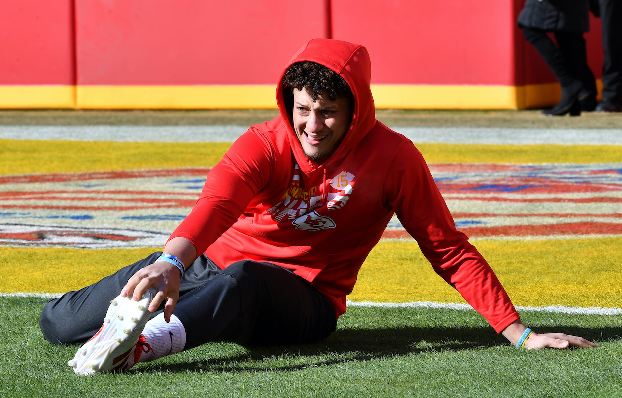 Patrick Mahomes Didn't Take a Day Off His Workouts After Making the Playoffs: 'I Had to Find a Way to Make Myself Better'