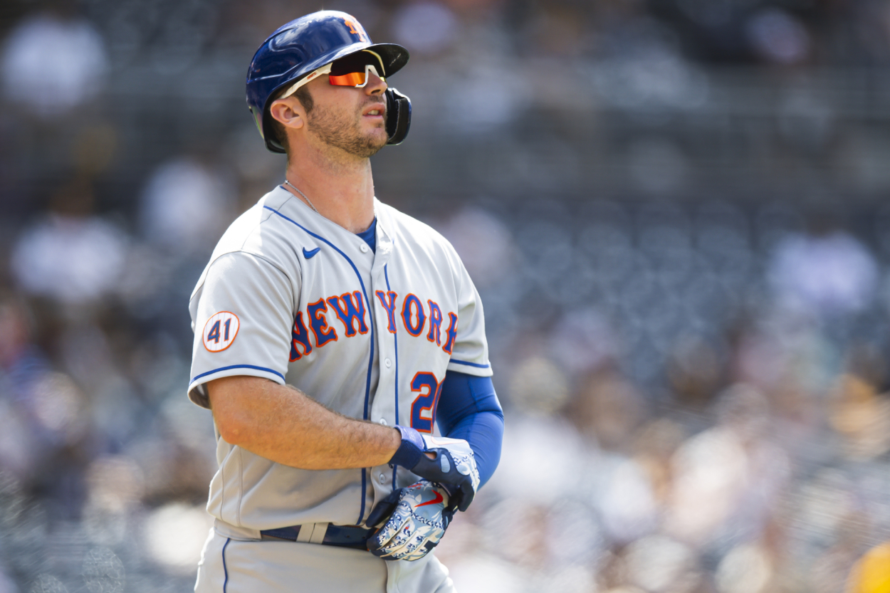 Mets Star Pete Alonso Shares His Bizarre MLB Conspiracy Theory … and He Might Be Onto Something: 'That's Not a Coincidence'