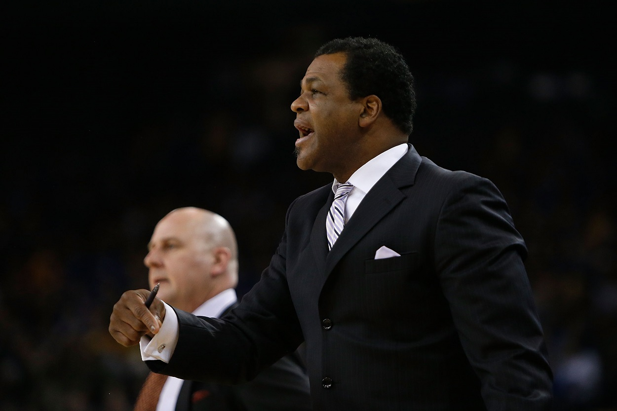 Chicago Bulls assistant coach Pete Myers during a 2019 matchup with the Golden State Warriors