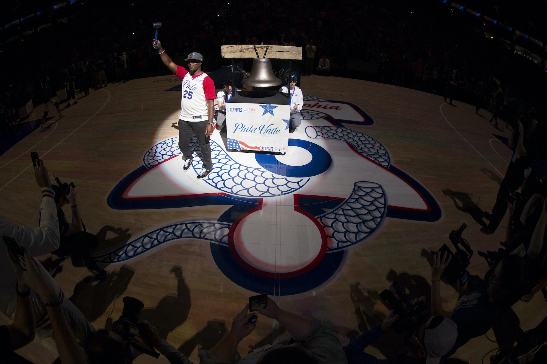 Why Do the Philadelphia 76ers Have a Snake on Their Court?