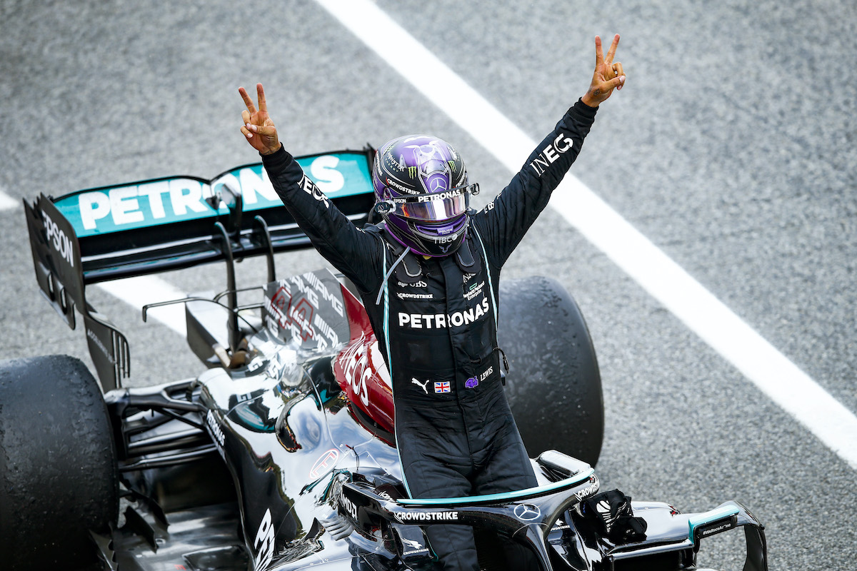 Why Formula 1 Driver Lewis Hamilton Picked No. 44: 'I Went Back to Where It All Started'