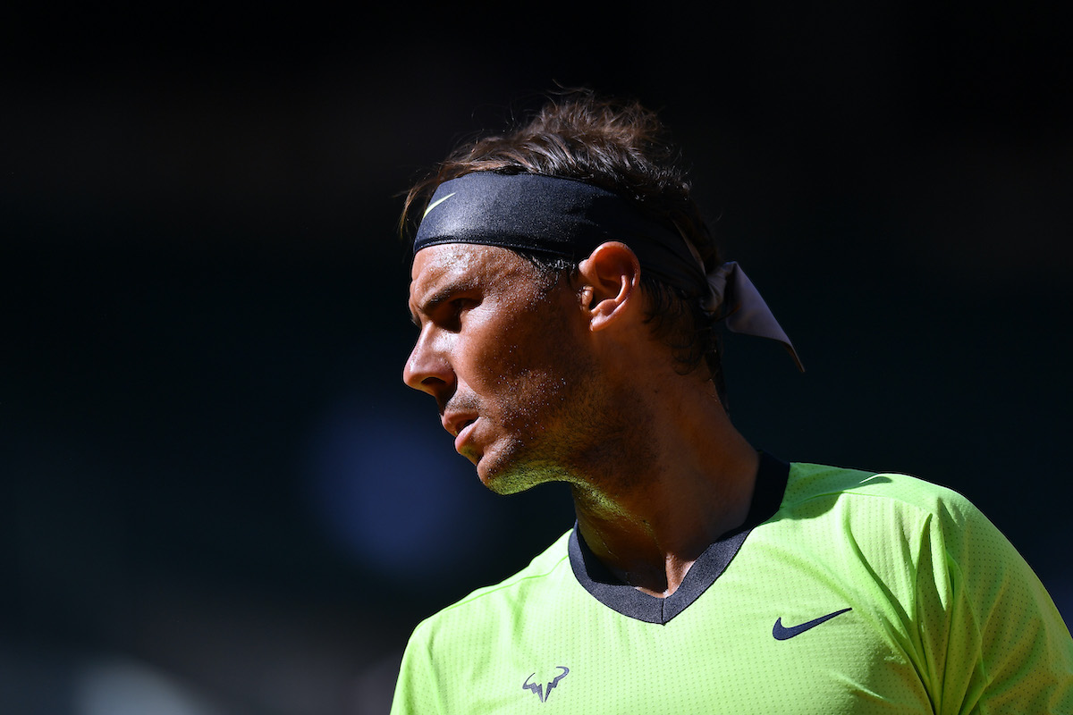Rafael Nadal Doesn't Need to Travel With Much When He Goes to Tennis Tournaments