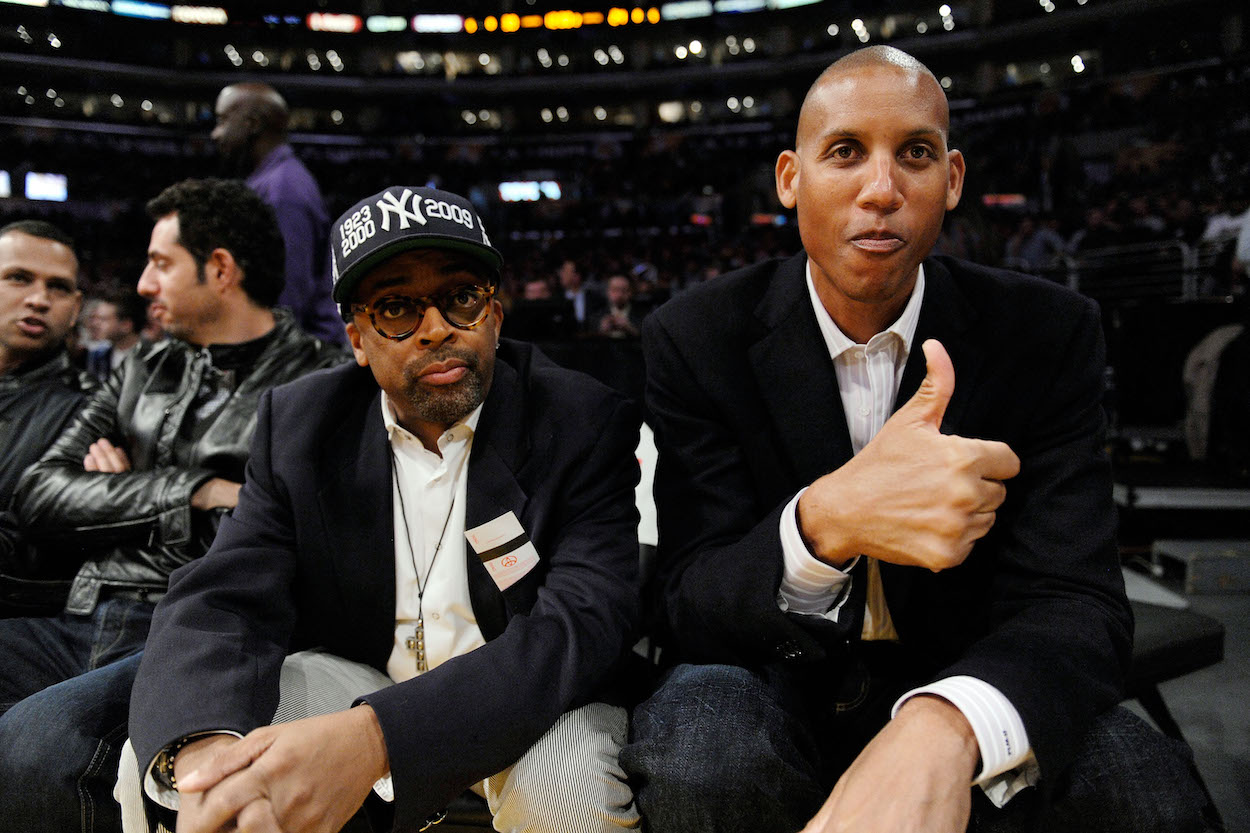 Reggie Miller Takes Shot at Spike Lee for Leaving MSG Early, Calling Him a 'Fair-weather Fan'