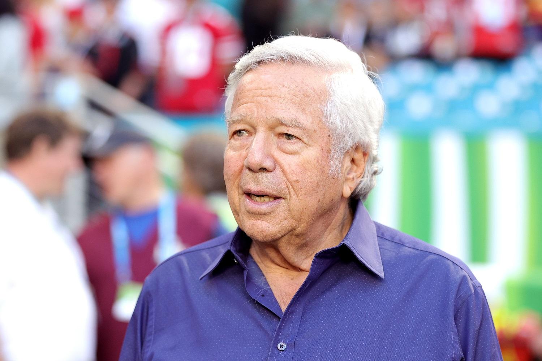 New England Patriots owner Robert Kraft. | Maddie Meyer/Getty Images