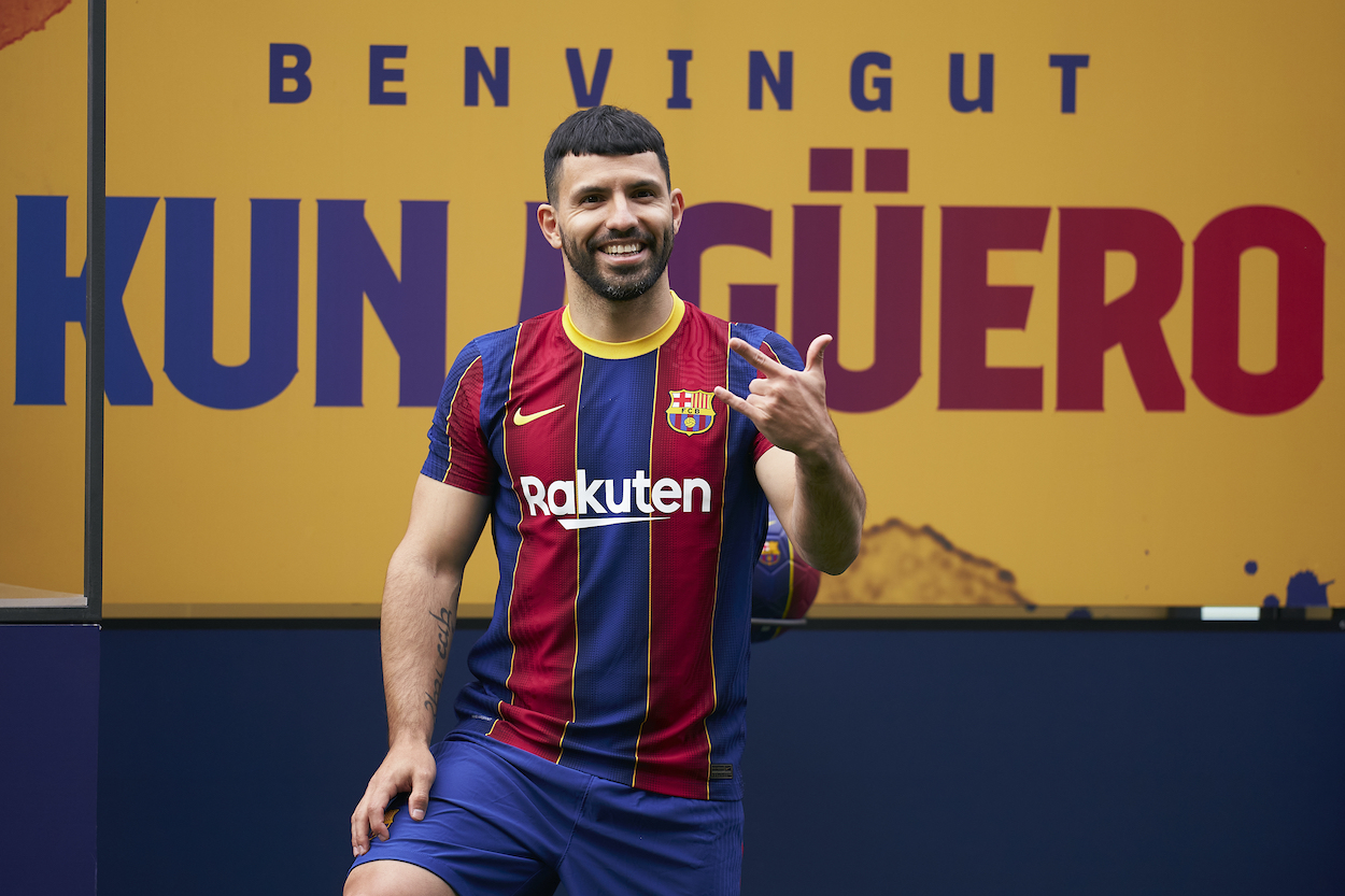 Sergio Aguero Signs a Contract With a $122 Million Buyout Clause to Join His Countryman Lionel Messi in Barcelona