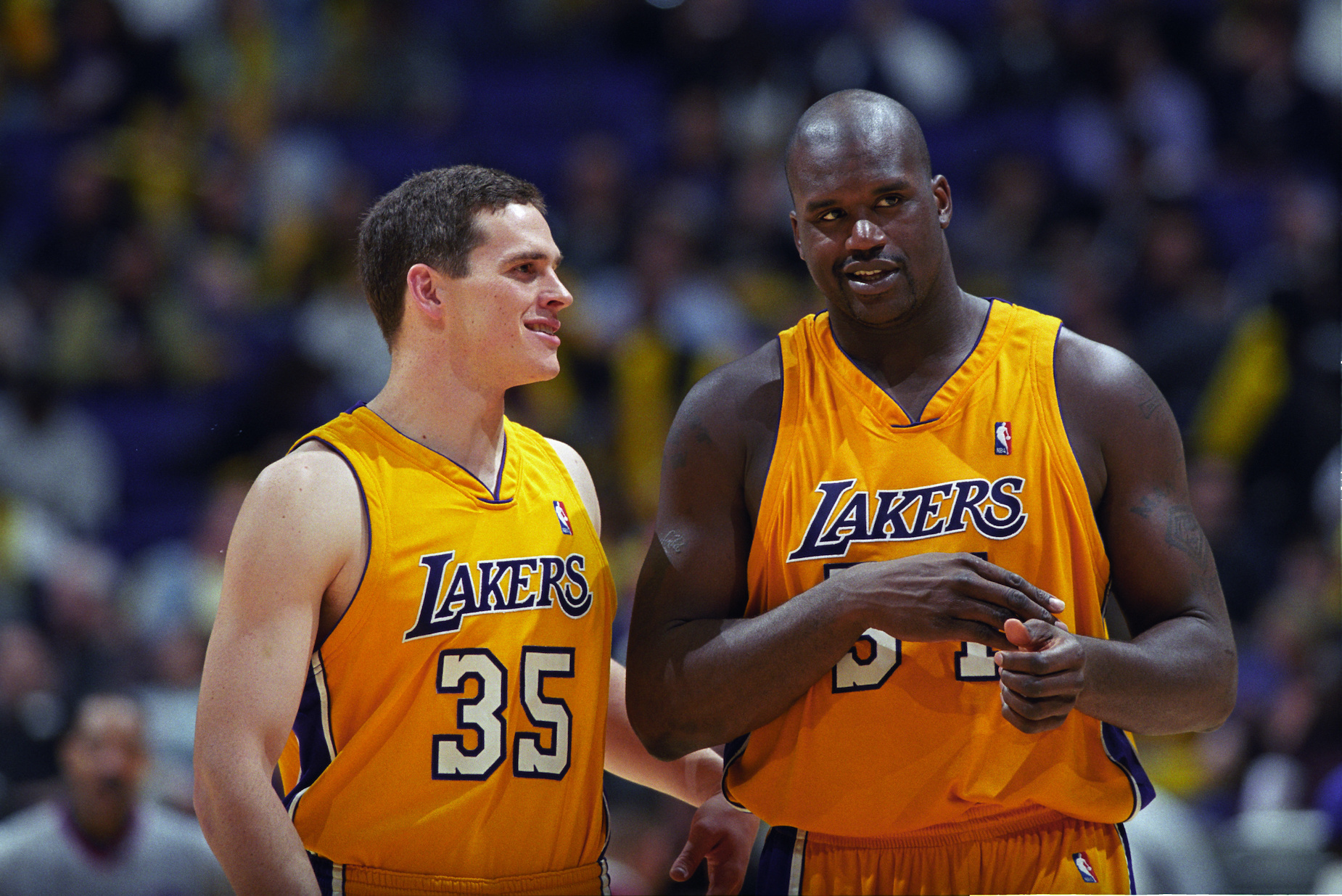 Shaquille O'Neal Acted Like a 'Mormon Match.com' Service to Help 1 of His Lakers Teammates Find Love