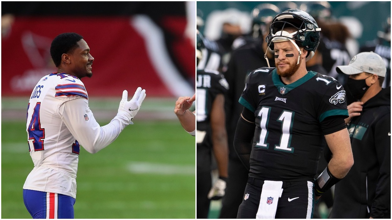 Indianapolis Colts Make a $128 Million Gamble That Carson Wentz Can Be the Next Stefon Diggs