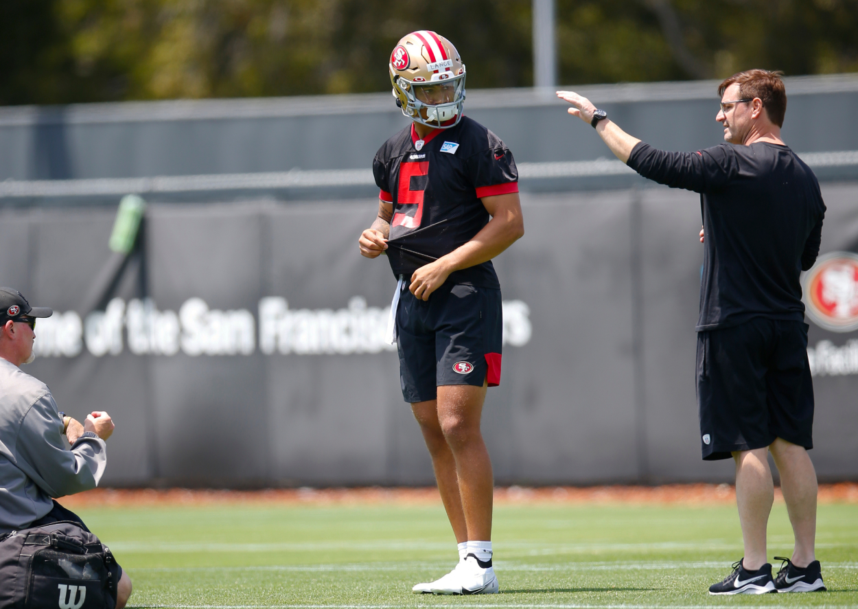 Trey Lance and the San Francisco 49ers Rookies Already Getting Harsh Dose of Reality