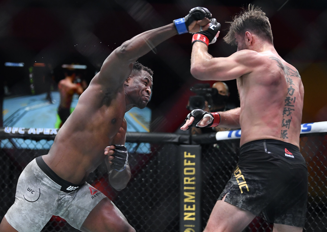 UFC Heavyweight Champ Francis Ngannou Punches So Hard He Generates the Same Horsepower as a Car