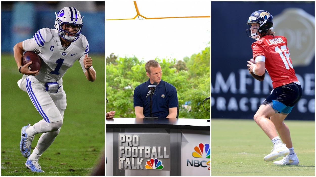 NBC NFL Analyst Chris Simms ponders the question, is Zach Wilson better than Trevor Lawrence?