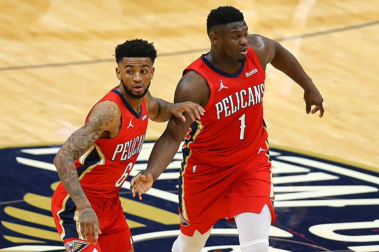 Zion Williamson Heaps Praise on His Teammate: 'We Know How Great He Can Be'