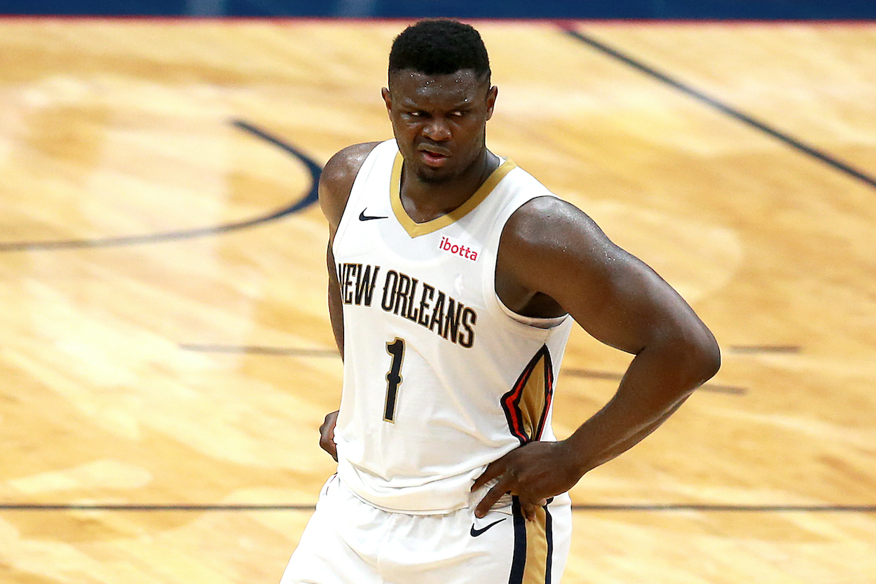 Zion Williamson Should Be Terrified About Rumors the New Orleans Pelicans Might Trade for a Disgruntled NBA Star