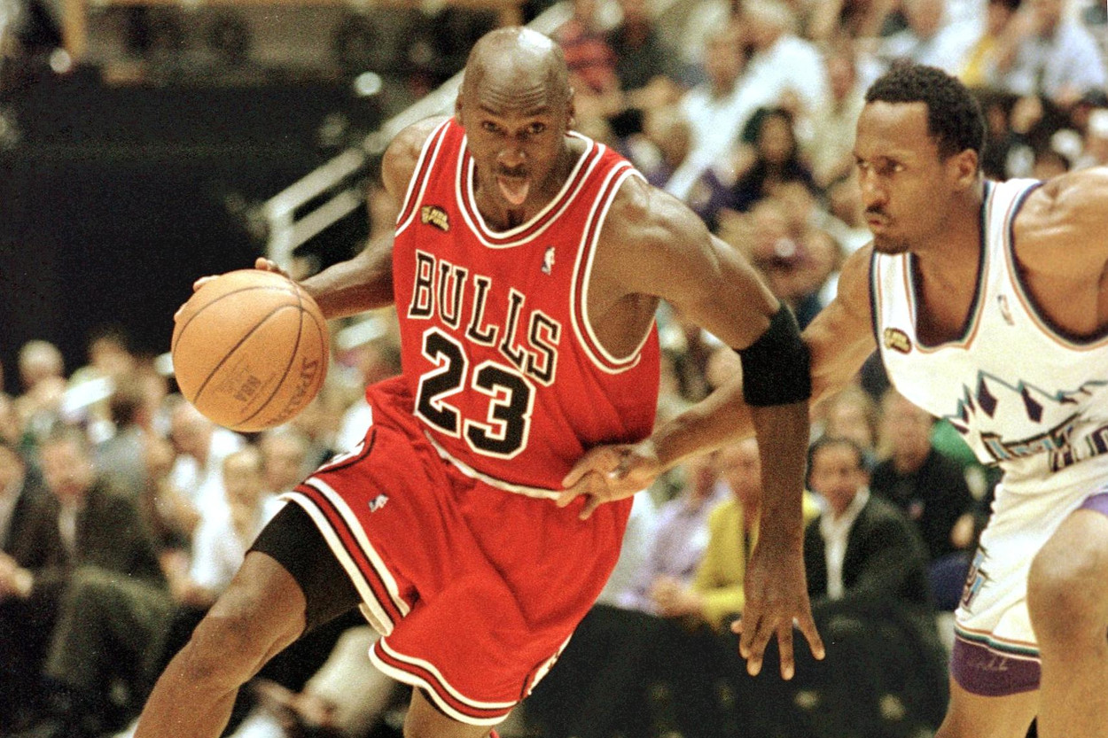 Michael Jordan played in the NBA Playoffs in 13 of his 15 seasons