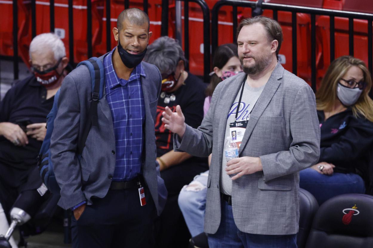 Philadelphia 76ers executive Daryl Morey