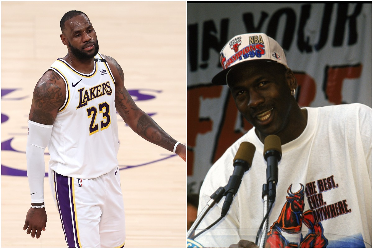 LeBron James Won't Play in Tokyo Olympics Because He Plans to Suit Up for a Team Michael Jordan Played On Instead
