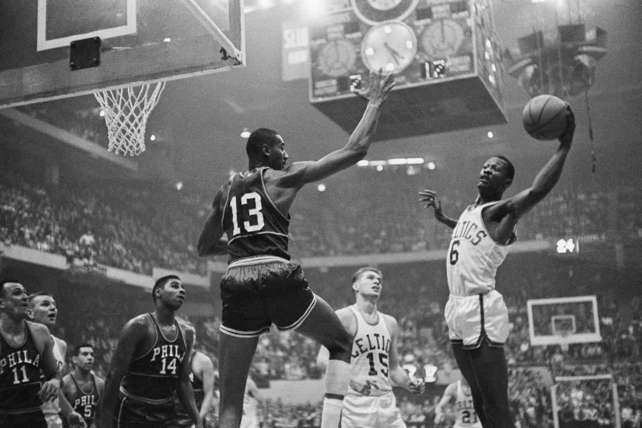 Bill Russell in the NBA Playoffs