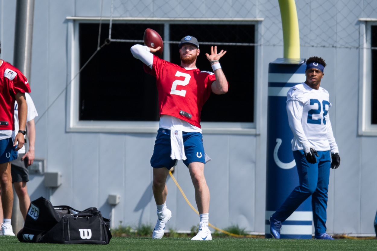 Carson Wentz's Offseason Move Could Help Him Have a 'Helluva Year' for the Colts: 'He's Worked His Tail Off' - Sportscasting
