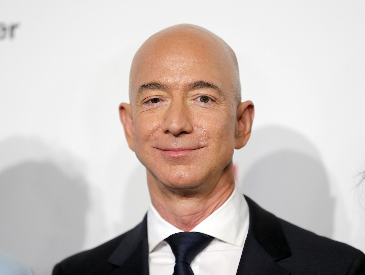 Jeff Bezos, who is thinking about buying the Denver Broncos
