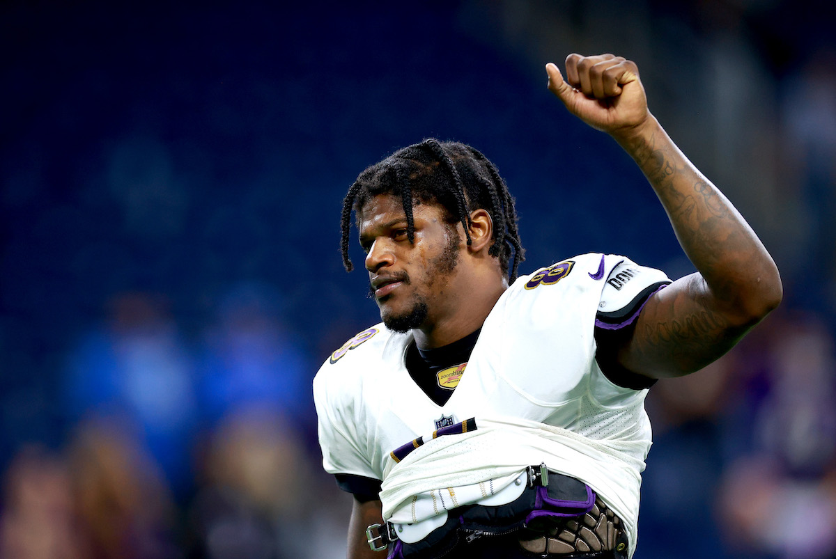 Lamar Jackson #8 of the Baltimore Ravens, does he have a college degree