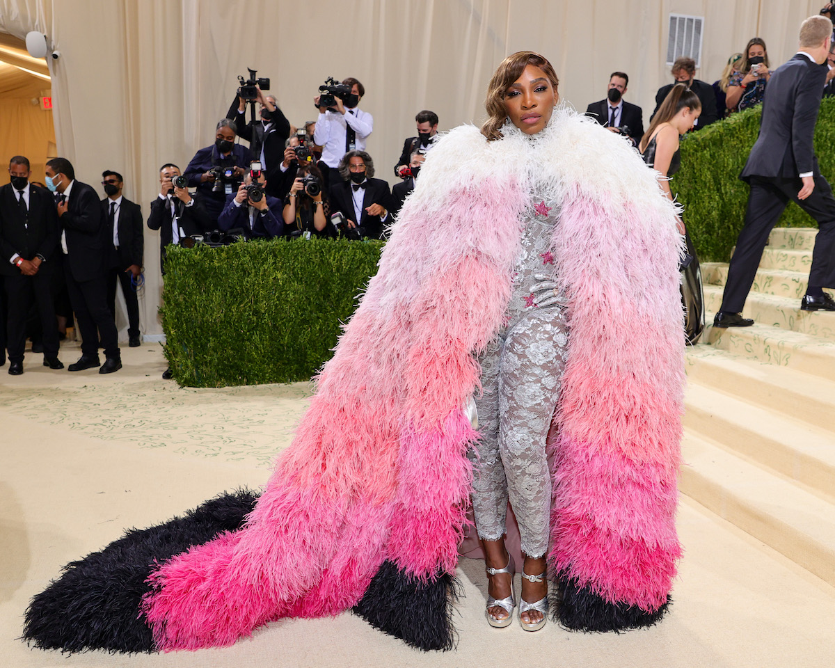 Serena Williams was among the sports stars at the 2021 Met Gala