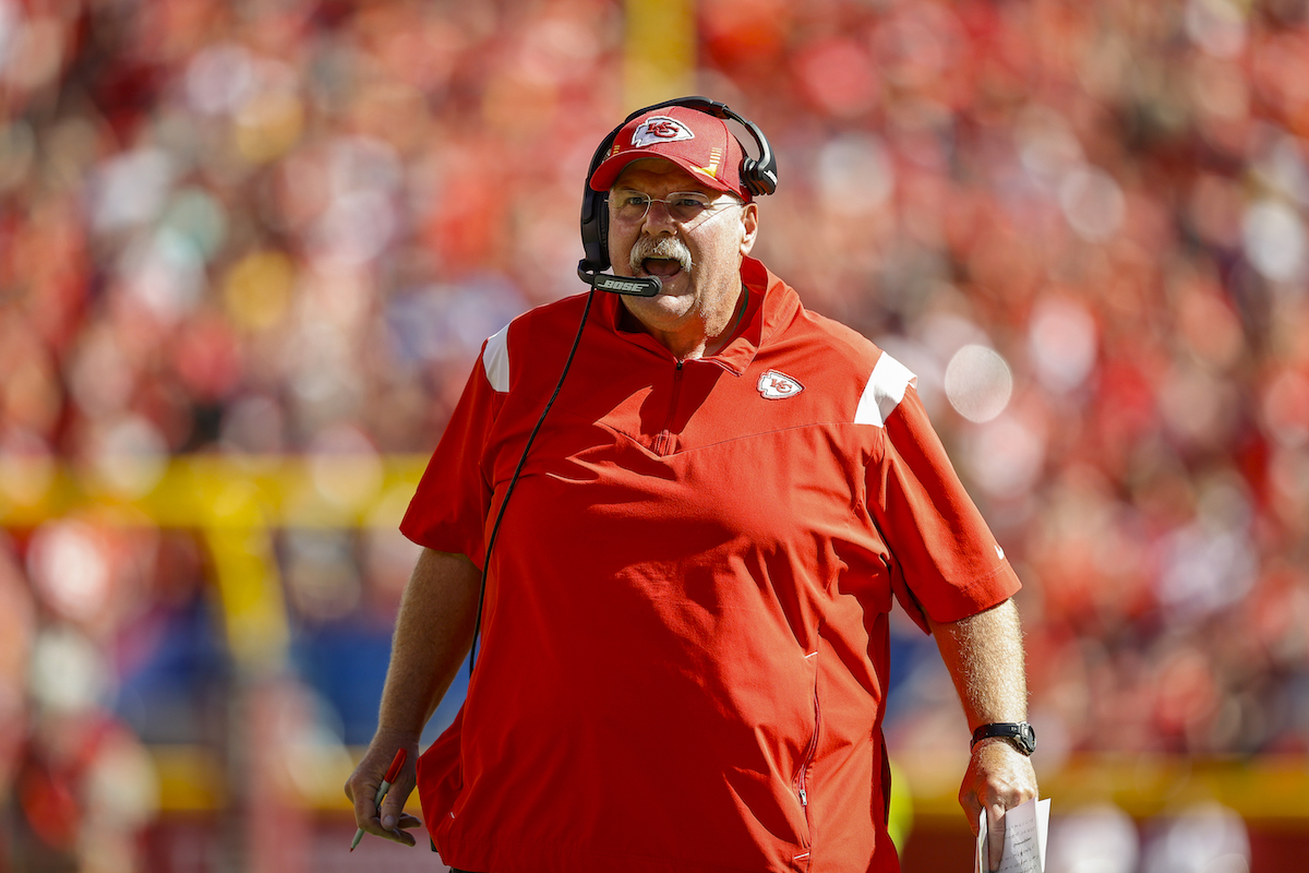 What happened to Andy Reid of the Kansas City Chiefs.